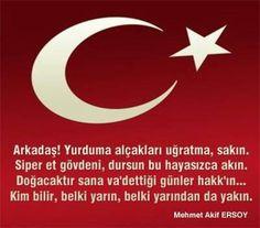 Rabbim bizleri ezansız bayraksız vatansız sensiz BIRAKMA. Turkish People, Steve Jobs, Karma, Sayings, Logos, Twitter, Hardanger, Rice, Lyrics