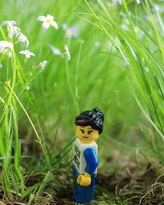 I just wanted to go for a hike... #brickcentral #brickinsider #legostagram #legoaddict #lego #legoland #legos #legogirl #minature #macro #canon #minibrig #minifigures #minifig #legophotography #brickify #bricks #girl #flower #green #smile #canon80d by shuttermind_chelz
