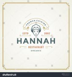 face chef restaurant menu hat woman ali4home silhouette template vector