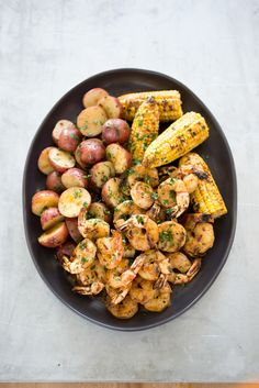 Bring on the Old Bay! It's time for Maryland-Style Grilled Shrimp and Corn.