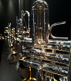 Stomvi Trumpet Display https://www.facebook.com/pages/Stomvi-USA/106129483617?fref=ts  http://www.youtube.com/user/stomviusavideo  http://stomvi-usa.com/