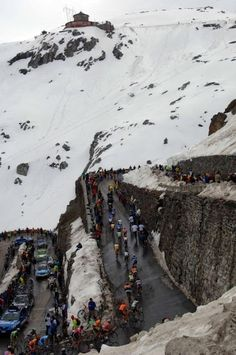 2012 Giro d'Italia -The Passo dello Stelvio