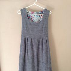 Washi Dress in Robert Kaufman Chambray Union.