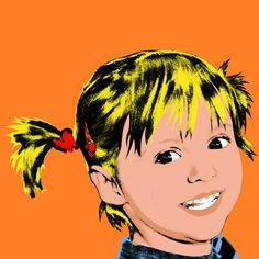 Personal Art pop art portret Warhol stijl 1 luik