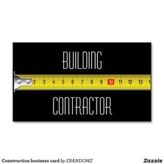 Shop Construction business card created by ERANDOMZ. Free Business Cards, Business Logo, Business Card Design, Construction Business Cards, Construction Logo, N Logo Design, Brochure Design, Construction Wallpaper, Bussiness Card
