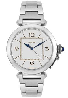 Price:$7468.68 #watches Cartier W31072M7, The Cartier timepiece is an accessory, a status symbol, a luxury, this watch defines the person you are. Cartier is a dream renewed to infinity.
