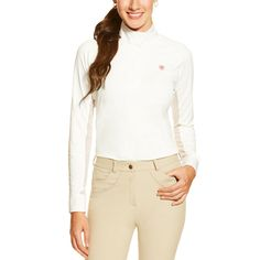 Ariat Ladies' Marquis Show Top - Ariat Moisture Movement Technology™ draws moisture out for quick evaporation, keeping you dry and comfortable.