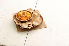 Roasted Sweet Potato Hummus #sweetpotato #hummus #recipes #dips #chips #crackers