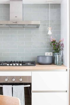 I always like to do something bright and white.. was thinking white suway tile, but if light permits this light grey green subway tile would be great.. bit different from everyone else.......beddinghouse
