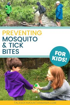 Preventing Tick and Mosquito Bites - Tales of a Mountain Mama Organic Gardening Tips, Organic Farming, Anti Lice Shampoo, Hiking With Kids, Square Foot Gardening, Camping 101, Family Camping, Mosquitoes, Backyard For Kids