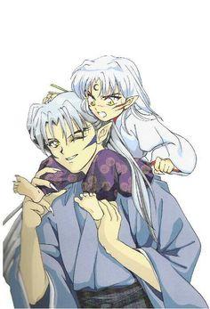 Inuyasha - Inu no Taisho and Sesshomaru