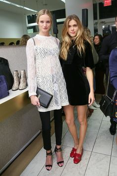 Maud Welzen and Victoria Lee - SchonbergerMaje and Vogue Host a Fall Shopping Party - November 2016