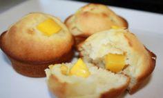 Deliciosos muffins de mango