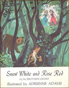 Snow White and Rose Red, written by Brothers Grimm. Again, I had this as a child. Like Romeo and Juliet, it was a library copy we brought up to TN with us. Unfortunately, I haven't found it for some years now. T_T