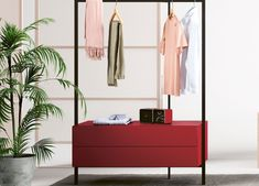 Freestanding - Armarios - Mobiliario Tall Drawers, Tall Mirror, Clothes Rail, Drawer Unit, Stylish Bedroom, Spare Room, Open Shelving, Design Your Own, Furniture Making