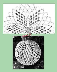 Christmas Tree Hooks, Crochet Christmas Decorations, Crochet Christmas Ornaments, Crochet Decoration, Christmas Crochet Patterns, Holiday Crochet, Diy Christmas Ornaments, Crochet Snowflake Pattern, Crochet Motifs