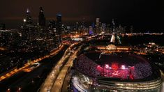 BTS Chicago Concert Drone Footage, Speak Yourself Tour at Soldier Field Bts Chicago, Chicago Tours, Metlife Stadium, Wembley Stadium, Chicago Concerts, Soldier Field, Bts Concert, Female Soldier, Famous Singers