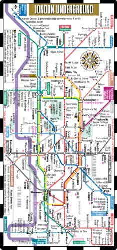 Streetwise London Underground Map – The Tube « Library User Group