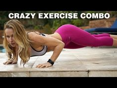 5 Minute Workout #58 – Crazy Exercise Combo | Zuzka Light