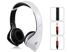 New Headphones Beautiful Headset Red Black White For Iphone Special Edition Beat