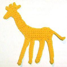 Giraffe Applique ~ free pattern ᛡ