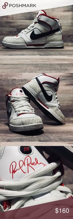 8648bd59c997 NIKE SB PAUL RODRIGUEZ 2 ZOOM AIR HIGH Gently used and well taken care of.