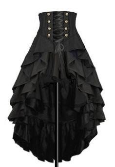 Steampunk Skirt Design by Amber Middaugh www.steampunkarti… Steampunk Rock Design von Amber Middaugh www. Steampunk Rock, Mode Steampunk, Steampunk Skirt, Steampunk Clothing, Gothic Clothing, Renaissance Clothing, Steampunk Necklace, Steampunk Boots Mens, Steampunk Costume Women