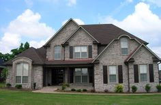 Brick offers unlimited style potential. From brick framed window openings to dramatic arches, you can really make a statement with a brick home. http://insistonbrick.com/