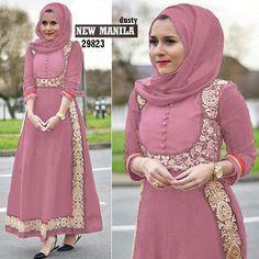 Manila dusty Rp143rb maxi tgn pjg kancing depan busui pinggang blkg karet pashmina persegi pjg baloteli full ld 90 pjg 135 lb 178 berat 550gram contact us FB fanpage: Toko Alyla line@: @alylagamis WA: 0812-8045-6905 toko online baju muslim gamis murah hijab murah supplier hijab konveksi gamis agen jilbab Abaya Fashion, Women's Fashion, Hijab Dress, Abayas, Different Styles, Muslim, African, Gowns, Models