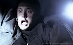 dean's airplane face #supernatural #funny