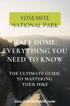 If you're planning to hike Half Dome at Yosemite National Park, here is everything you need to know for your hike of a lifetime.
