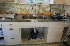DIY: Installing Stainless Steel Counters on Christonium: Home Project