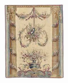 Linens & Textiles (pre-1930) Tapestries 14 Antique 18c Aubusson French Hand Woven Silk Tapestry Chair Cover Panel Distinctive For Its Traditional Properties