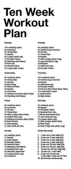 4-week beginner's workout plan level one | month workout, workout