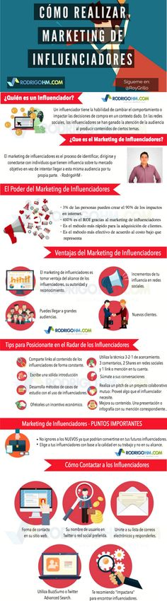 Cómo realizar un buen #Marketing de #Influencers en #RedesSociales