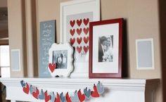 65 Valentine's Day Mantel Décor Ideas | DigsDigs