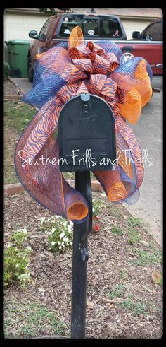 Auburn University Deco Mesh Bow by SouthernThrills on Etsy, $27.00