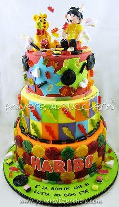 Qualche settimana fa sono stata contattata da Haribo per realizzare una torta dedicata al cake design e alle loro caramelle. Il tema della...