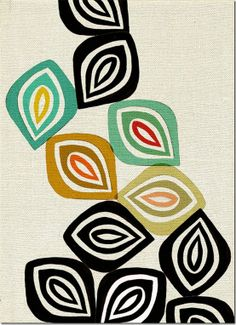 mid-century style prints. inaluxe