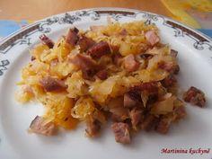 Martinina kuchyně: Dita P. - Zelí pečené s uzeninou