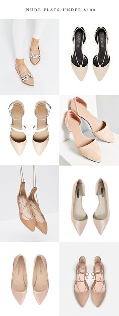 Nude Flats under $10