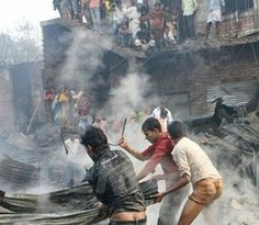 HEADLINE:  Slum dwellers die in Bangladesh fire ... What are working conditions like in your country? ... Are they the same for everybody?