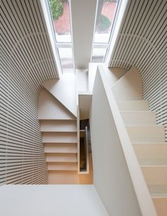 View the full picture gallery of Medical Innovation Center Modern Staircase, Staircase Design, Stairs Architecture, Interior Architecture, Innovative Architecture, Stairs Window, Clinic Interior Design, Innovation Centre, Interior Stairs