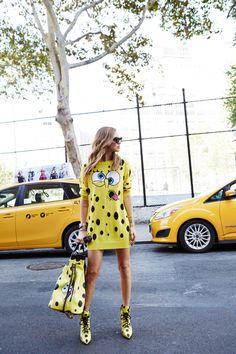 The blonde Salad - Chiara Ferragni - Streetstyle - Milan Fashion Week - ss15 - Moschino