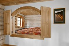 Norwegian sleeping alcove