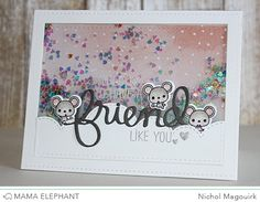 mama elephant | design blog: STAMP HIGHLIGHT : FRIEND INDEED