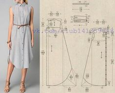 Amazing Sewing Patterns Clone Your Clothes Ideas. Enchanting Sewing Patterns Clone Your Clothes Ideas. Sewing Dress, Dress Sewing Patterns, Diy Dress, Sewing Clothes, Clothing Patterns, Diy Clothes, Sewing Coat, Skirt Patterns, Coat Patterns