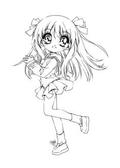 kyo won the poll but i happened 2 finish tohru it's the of my furuba chibi-series. i want 2 do all of the furuba characters. like i wanted 2 do with sailormoon. Chibi Coloring Pages, Fairy Coloring Pages, Printable Adult Coloring Pages, Coloring Sheets, Coloring Books, Tohru Honda, Anime Lineart, Kids Stamps, Digital Stamps