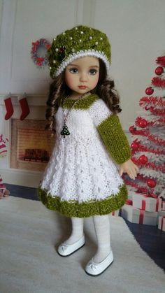 35.25.4/ #SpecialtyDolls Knitting Dolls Clothes, Crochet Doll Clothes, Knitted Dolls, Doll Clothes Patterns, Girl Doll Clothes, Girl Dolls, Baby Dolls, Pretty Dolls, Cute Dolls