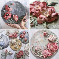 Discover recipes, home ideas, style inspiration and other ideas to try. Plaster Sculpture, Plaster Art, Sculpture Painting, Painting & Drawing, Diy Clay, Clay Crafts, Free To Use Images, Knife Art, Cold Porcelain